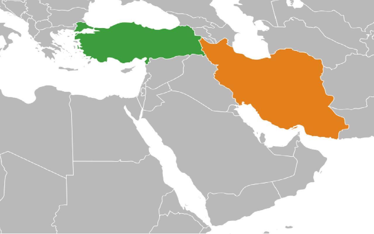 فاصله هوایی کارگو از ترکیه به ایران