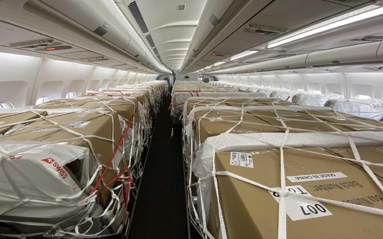 بارهای کارگو ترکیه به ایران درون هواپیما