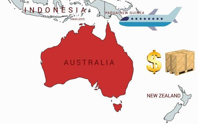 هزينه فريت بار به استراليا