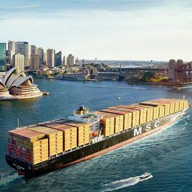 حمل کانتینر به استرالیا