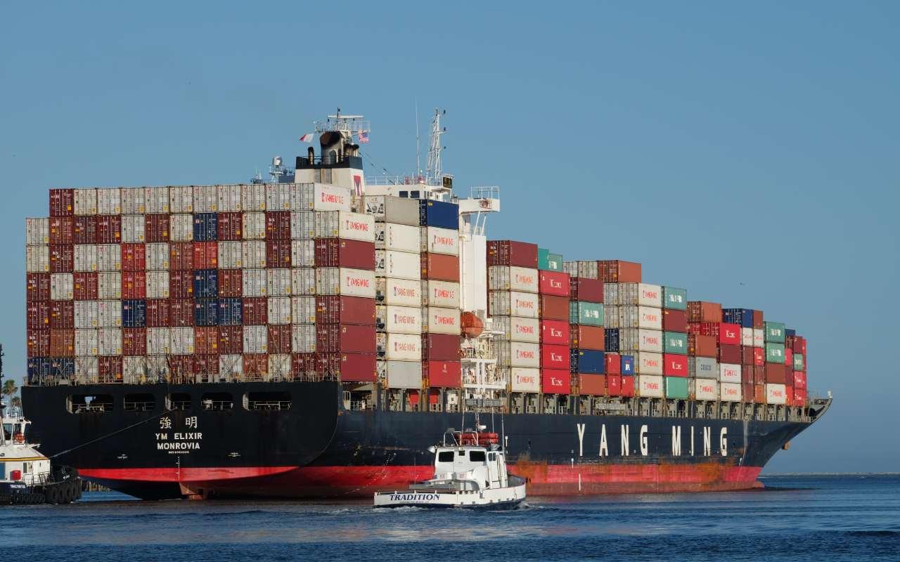 تصویری از کشتی حمل بار دریایی به کانادا