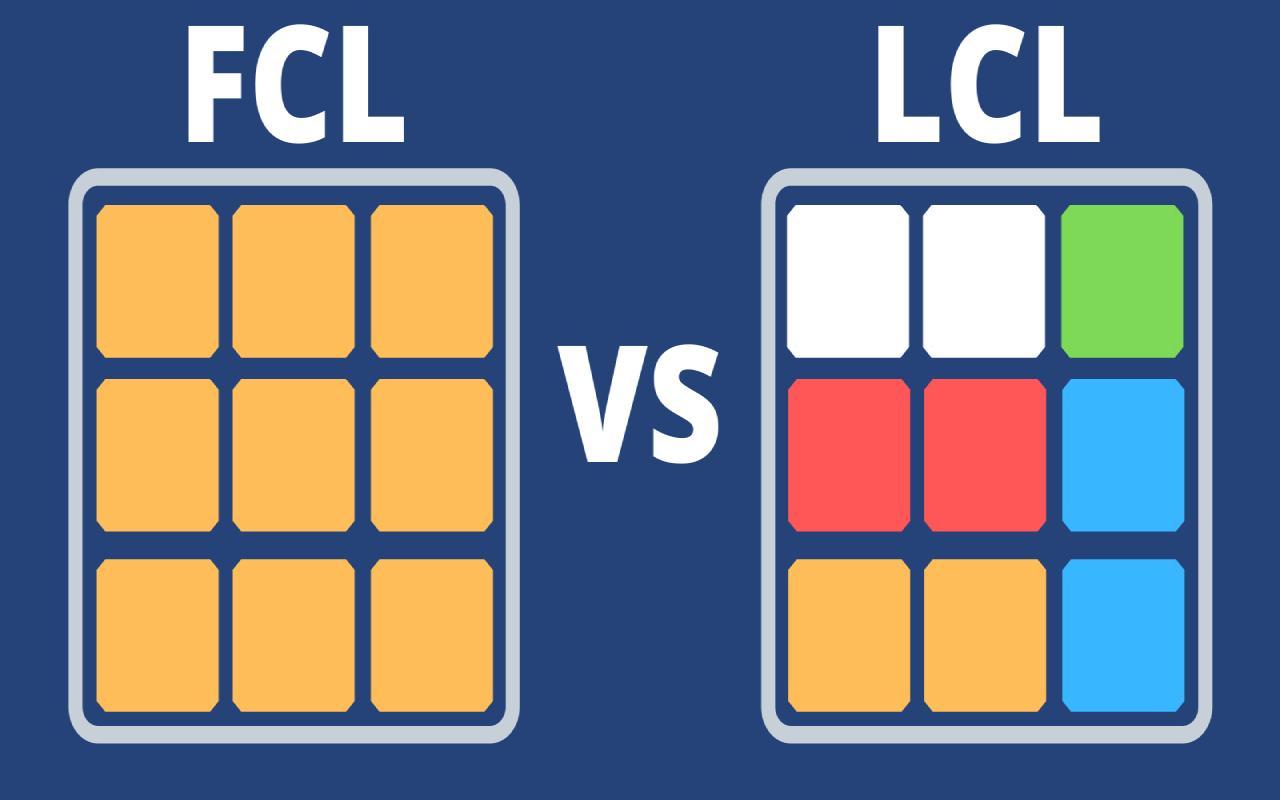 FCL و LCL در حمل بار با کشتی به کانادا
