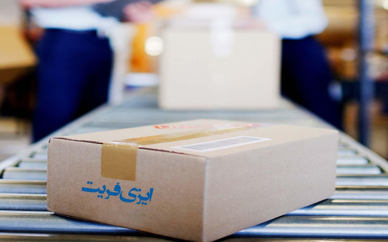 بسته بندی بار در فریت بار از کانادا به ایران