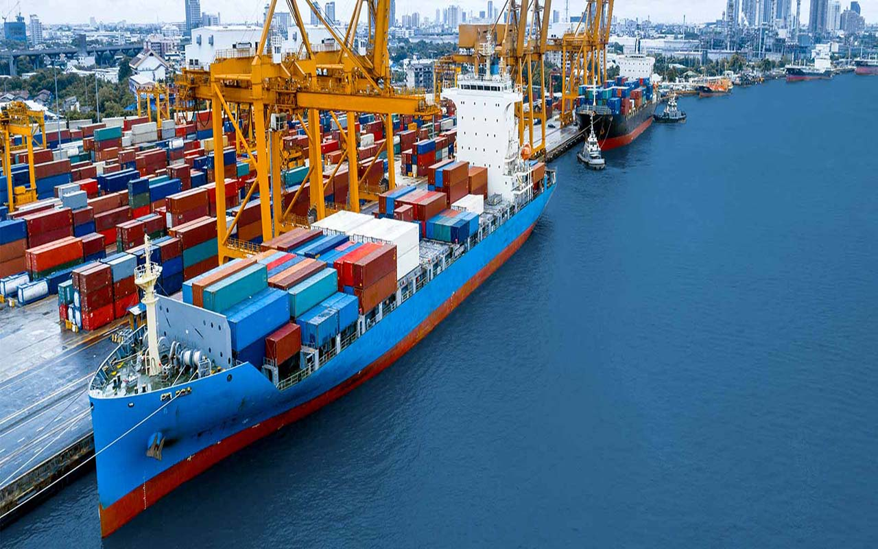 حمل دریایی در ارسال بار از امارات به ایران