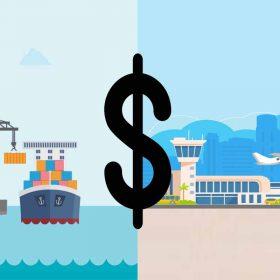 هزینه ارسال بار به چین