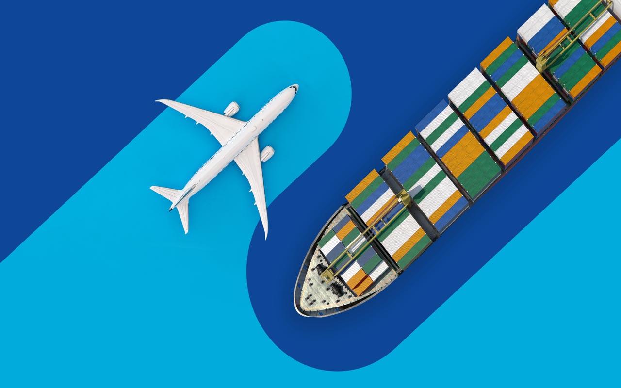 ارسال بار هوایی به چین یا ارسال دریایی