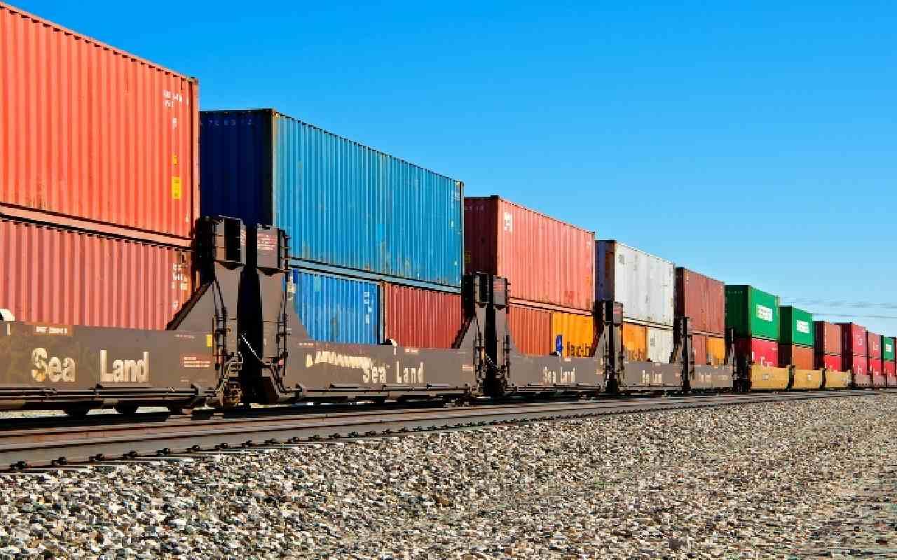 حمل بار با قطار به ترکیه