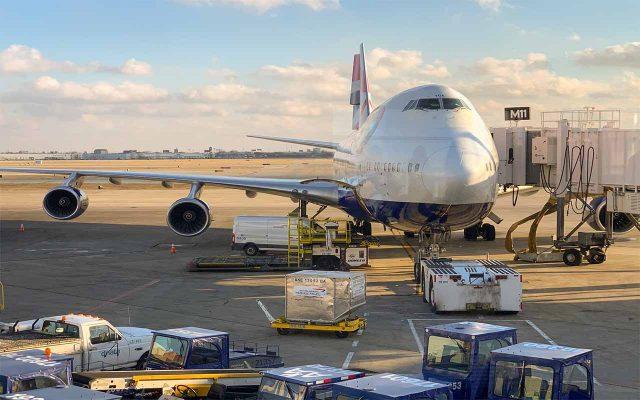 حمل و نقل هوایی بین المللی