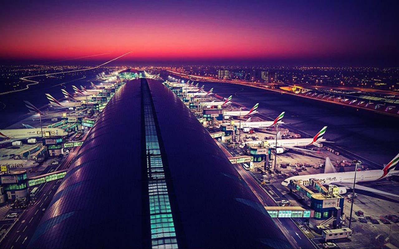 تاثیر فرودگاه دبی در حمل بار هوایی از دبی به تهران